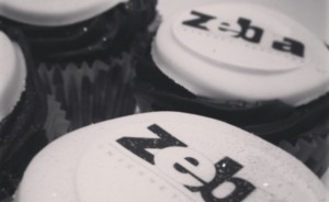 Zebra Internet Services Cupcakes