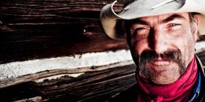Photo of cowboy